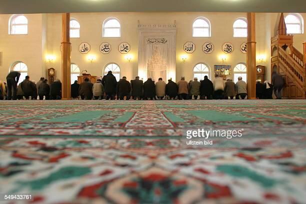 DEU Germany Marl prayer in the mosque