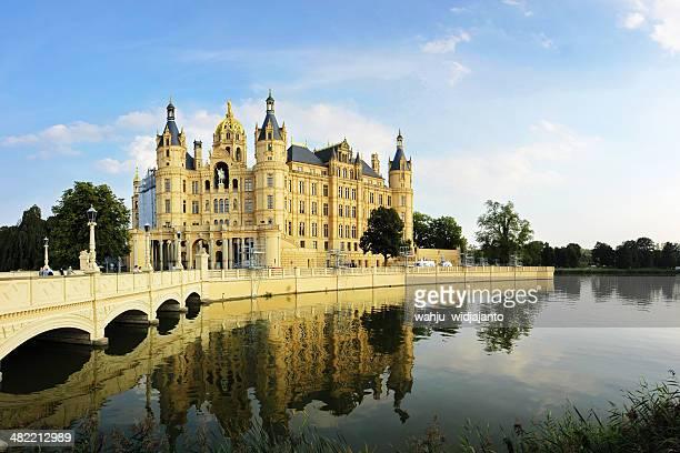 En Allemagne, Mecklembourg-Poméranie État, Schwerin Castle