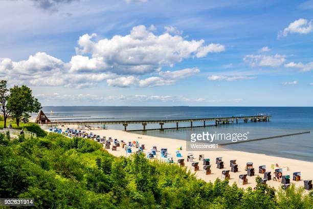 germany, mecklenburg-western pomerania, baltic sea seaside resort koserow - ウセドム ストックフォトと画像