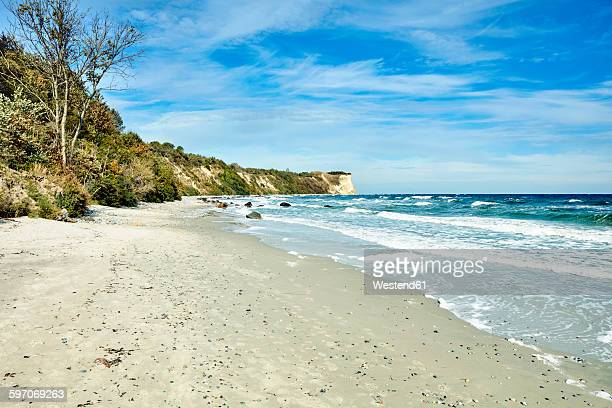 Germany, Mecklenburg-Western Pomerania, Ruegen Island, Vitt, Kap Arkona, Chalk cliff