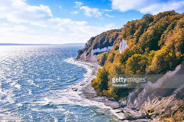 Germany, Mecklenburg-Western Pomerania, Ruegen, Jasmund National Park, Chalk coast