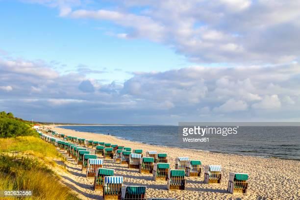 germany, mecklenburg-western pomerania, zinnowitz, beach - ツィノヴィッツ ストックフォトと画像