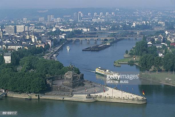 Germany Middle Rhine Valley Koblenz