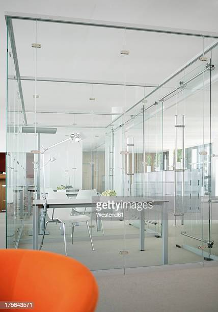 Germany, Modern office with glass walls