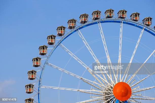 Germany, Munich, ferris wheel at the Oktoberfest