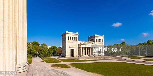 Germany, Munich, view to Propylaea at Koenigsplatz