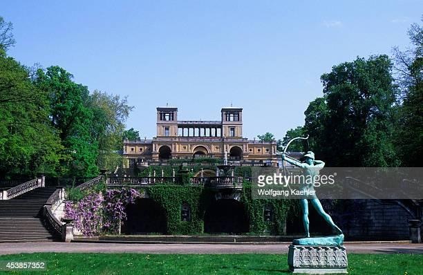 Germany Near Berlin Potsdam Sanssouci Castle Park View Of Orangerie
