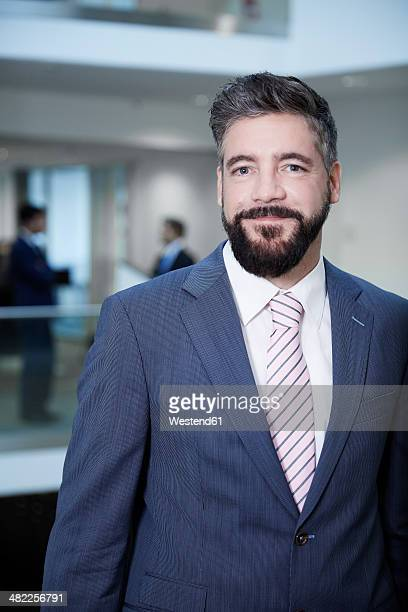 Germany, Neuss, Mature businessman in office building
