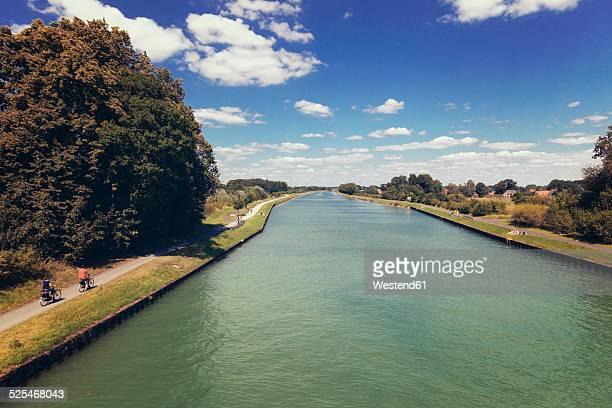 Germany, North Rhine-Westphalia, Dortmund-Ems Canal near Gelmer