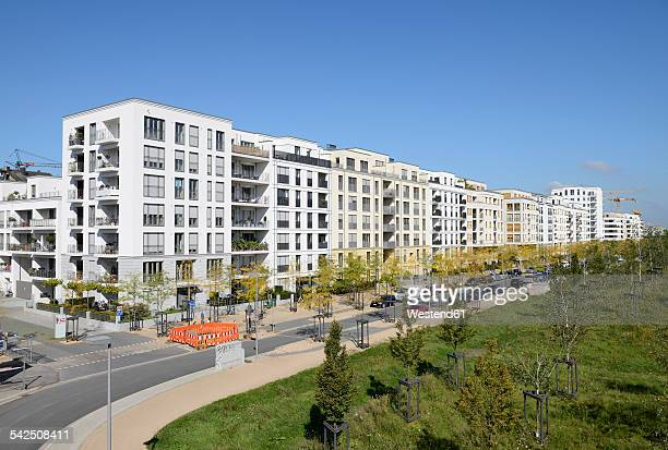Germany, North Rhine-Westphalia, Duesseldorf, apartment buildings at development area Le Flair