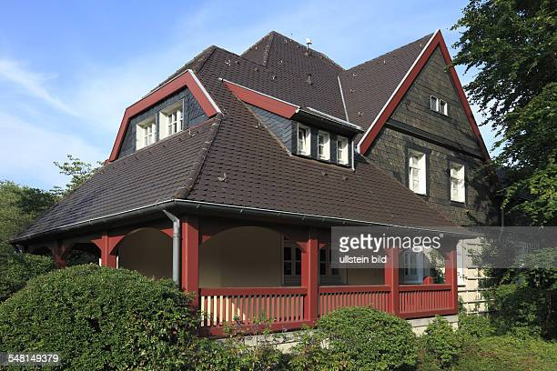 Germany North RhineWestphalia Essen EssenRuettenscheid Friedrich Alfred Krupp workmens dwellings workingclass housing estate Krupp colony Altenhof...