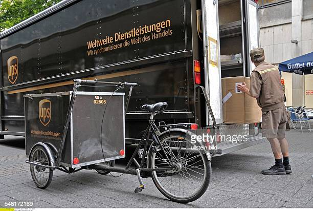 Germany North RhineWestphalia Koeln Cologne United Parcel Service UPS