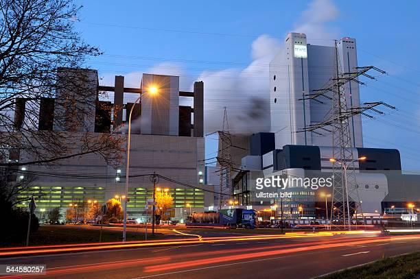 Germany North RhineWestphalia Niederaussem Coalfired power station Niederaussem of RWE AG
