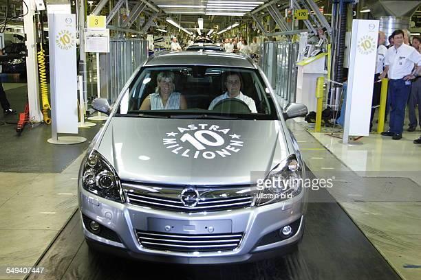 Production line Adam Opel AG