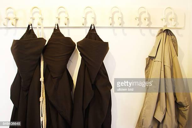 The oldest Capuchin monastery in the RhenishWestphalian Capuchin's province The cassocks of the monks