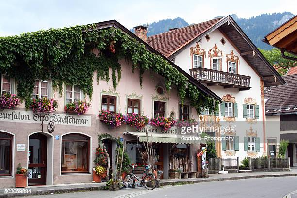 germany: oberammergau - bavaria stock pictures, royalty-free photos & images