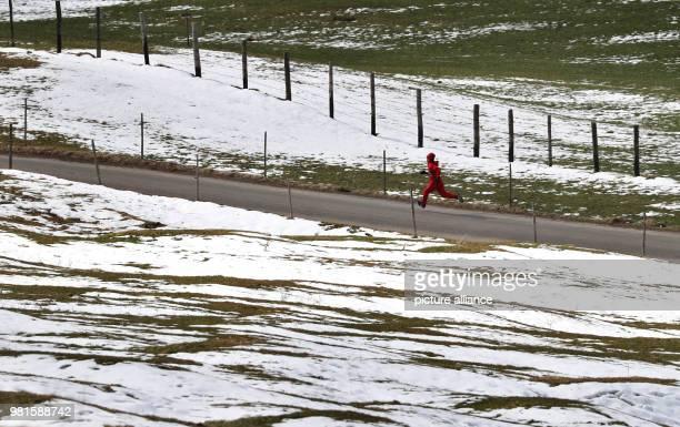 Weltcup 25 March 2018 World Cup Ski Jumping Women Sara Takanashi from Japan training Photo KarlJosef Hildenbrand/dpa