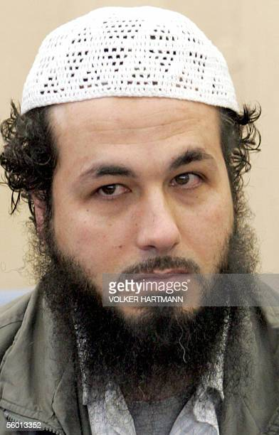 Picture showing Palestinian national Aschraf Al Dagma one of four defendants in the so called AlTahwid trial at a Duesseldorf court 26 October 2005...