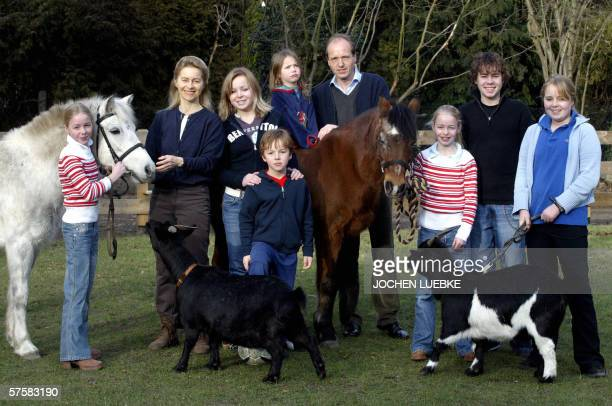 Picture taken 09 January 2005 in Hanover shows Germany's Family Minister Ursula von der Leyen , then Social Affairs Minister of Lower Saxony, of the...