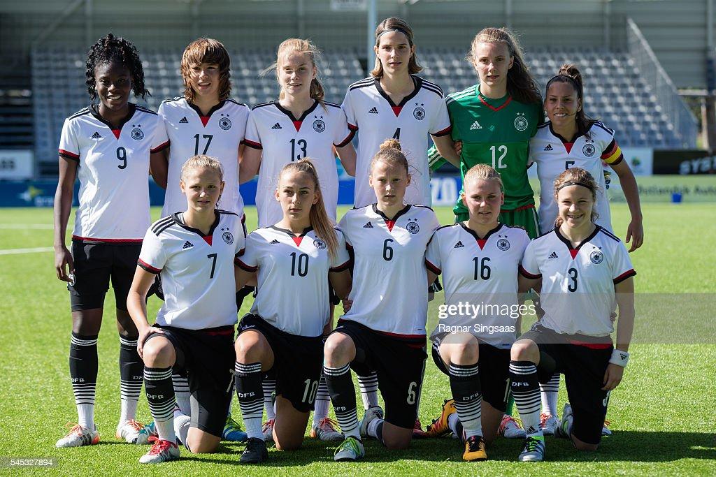U16 Girl's Germany v U16 Girl's Norway - Nordic Cup