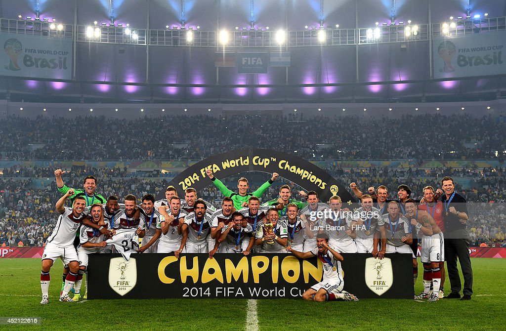Germany v Argentina: 2014 FIFA World Cup Brazil Final : Nachrichtenfoto