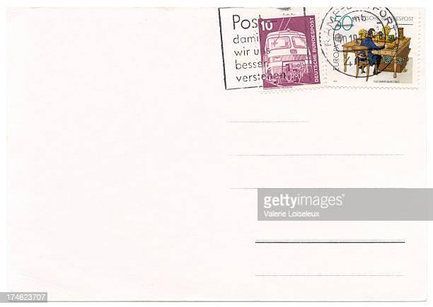Deutschland Postkarte