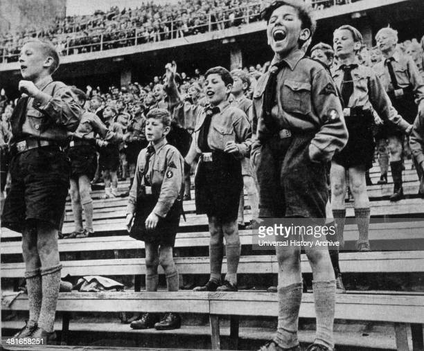 Rally of Nazi Youth 1930s
