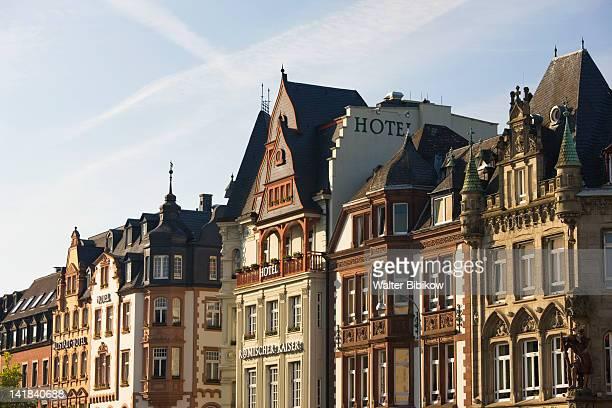 Germany, Rheinland-Pfaltz, Mosel River Valley, Trier, Town view