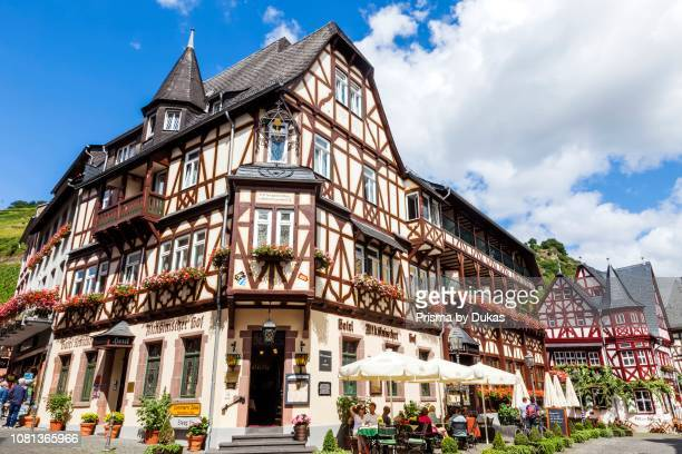 Germany RhinelandPalatinate Bacharach Town Centre