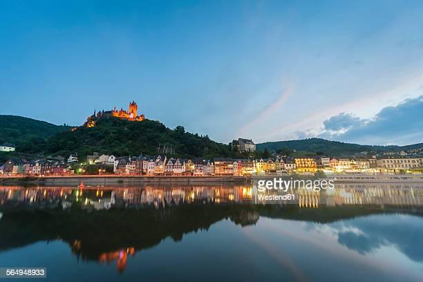 Germany, Rhineland-Palatinate, Cochem Imperial Castle