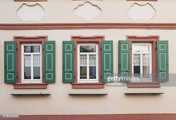 Germany, Rhineland-Palatinate, Freinsheim, Facade of a historical building