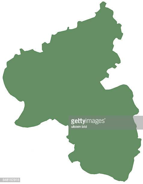 Germany RhinelandPalatinate Silhouette card