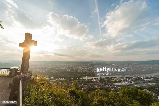 Germany, Rhineland-Palatinate, Trier, View from Markusberg