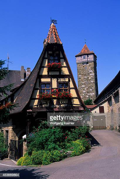 Germany Rothenburg On The Tauber Old Forge