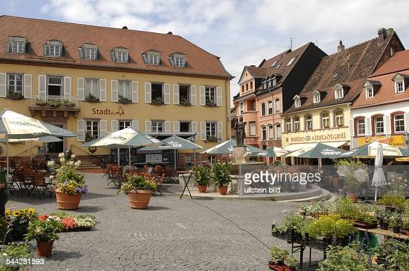 germany saarland homburg market place and the. Black Bedroom Furniture Sets. Home Design Ideas