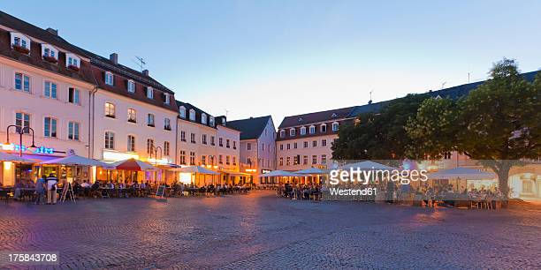 Germany, Saarland, View of St Johanner Market Square