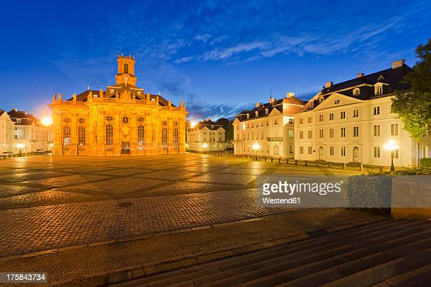 Germany, Saarland, View of St Ludwigs Church