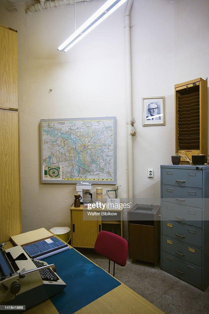 Germany, Sachsen, Leipzig, Stasi Secret Police Museum : Stock-Foto