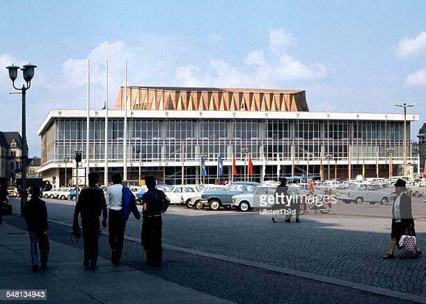 Germany Saxony Dresden The venue 'Kulturpalast'