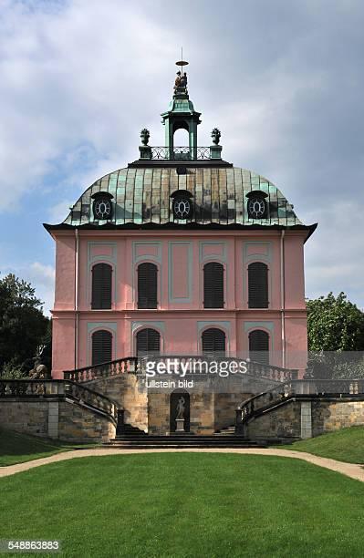 Germany Saxony Fasanenschloesschen at the castle grounds Moritzburg