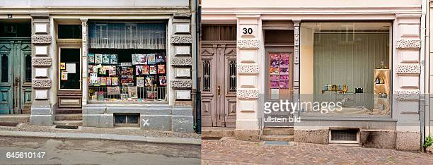 Wenceslaigasse Then Nowleft Newspaper kiosk picture 1009287411 right Closed tea shop picture 1009287410