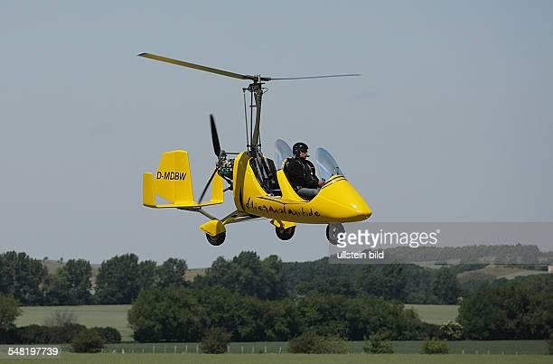 Germany SaxonyAnhalt Gyrocopter MT03