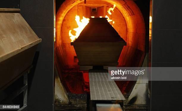 Germany SaxonyAnhalt Halle cremation crematory Flamarium Saalkreis