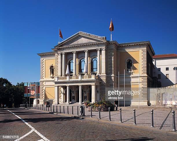 Germany SaxonyAnhalt Halle opera house