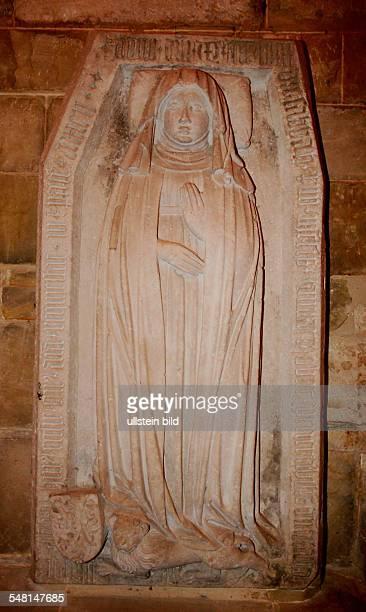 Germany Saxony-Anhalt Quedlinburg - crypt of the castle church