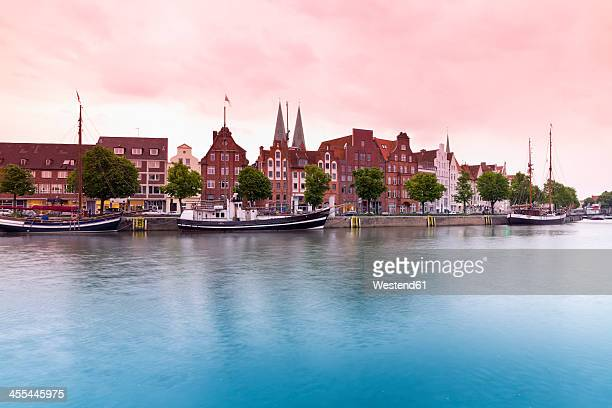 Germany, Schleswig Holstein, Luebeck View of Harbour Museum