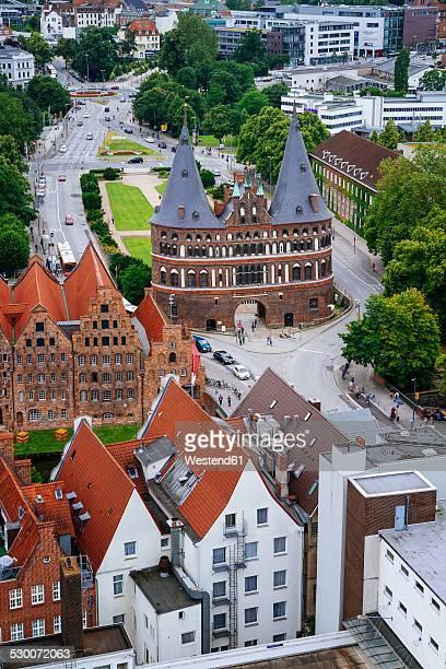 Germany, Schleswig-Holstein, Luebeck, Old Town, Holsten Gate