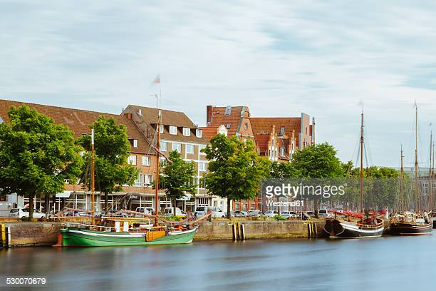Germany, Schleswig-Holstein, Luebeck, old town, Museum harbour