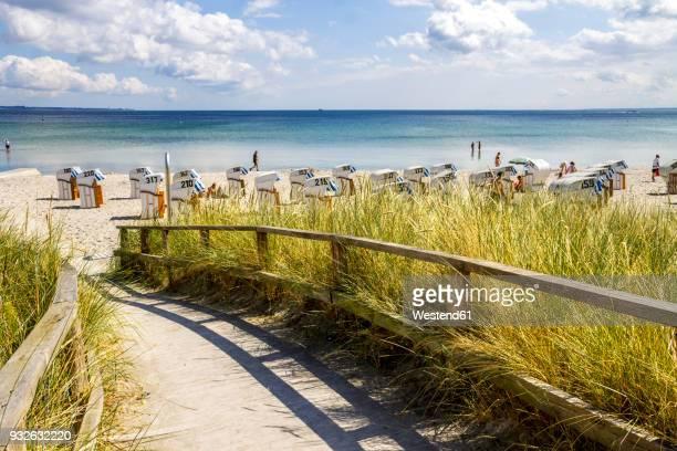 Germany, Schleswig-Holstein, Scharbeutz, coastal resort, beach