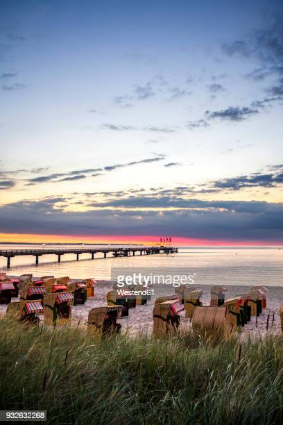 Germany, Schleswig-Holstein, Scharbeutz, coastal resort, beach